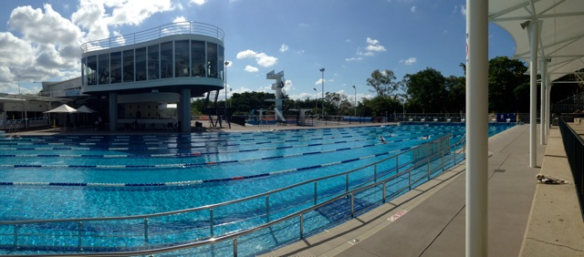Centenary Pool Opening In 1959 Marks Queensland S 100th Birthday